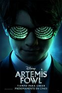 Artemis Fowl Spanish Poster
