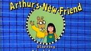 As seen on tiktok arthur's new friend, starring kaitlyn rare vhs from 2003