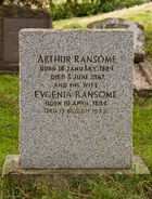 Arthur ransome headstone