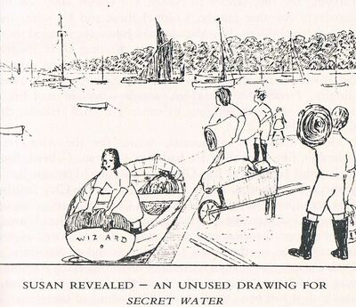 An unused sketch of Susan, published in CFT