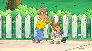 Arthur pushing DW in the stroller