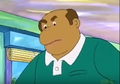 Mr. Frensky as he appears in Francine Goes to War