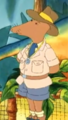 Nigel Ratburn's outdoor outfit
