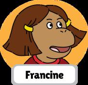 Francine's Tough Day Francine head 2