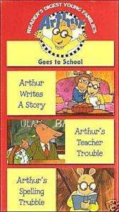 Arthur Goes to School (VHS)