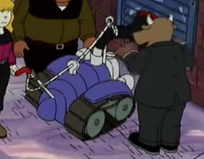 Anti-bionic machine