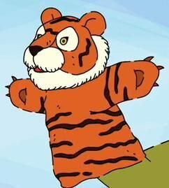 Ladonna's tiger puppet.jpg