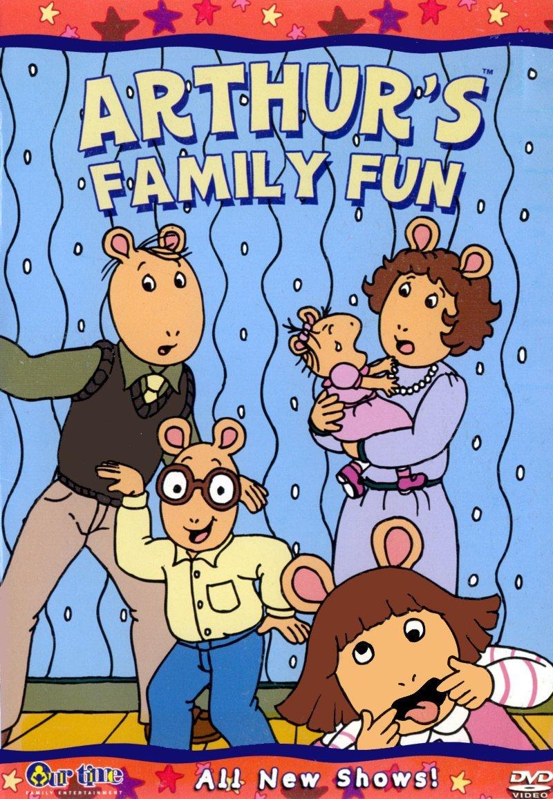 Arthur's Family Fun (2005 DVD)