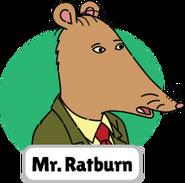 Francine's Tough Day Mr. Ratburn head 3