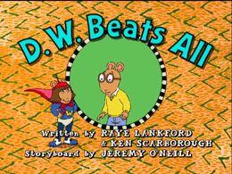 D.W. Beats All - title card.jpg