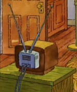Older TV when Arthur was younger