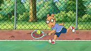 Arthur Playing Tennis