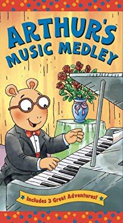 Arthur's Music Medley (VHS)