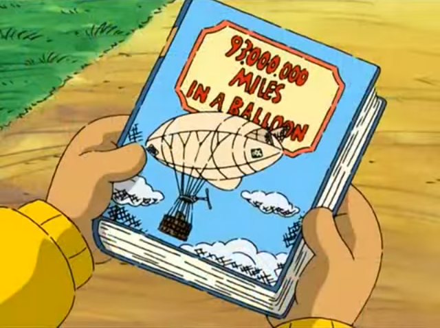 93 Million Miles in a Balloon (book)