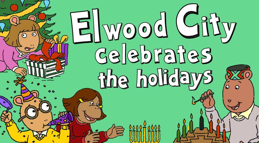 Elwood City Celebrates the Holidays
