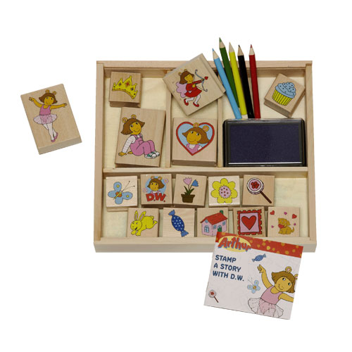 Arthur stamp kits