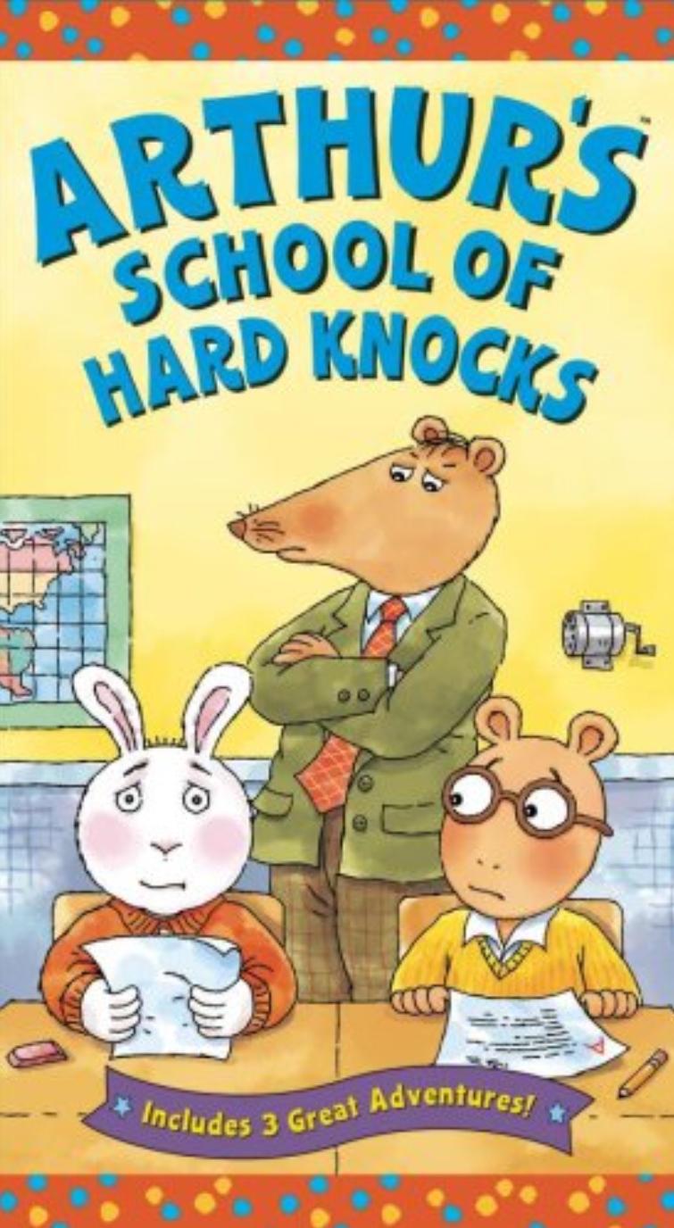 Arthur's School of Hard Knocks (VHS)
