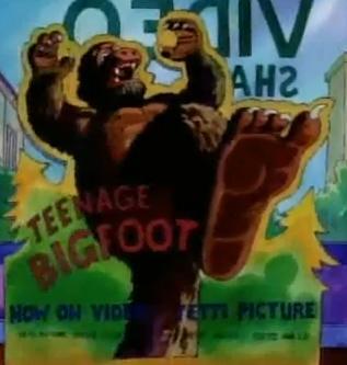 Teenage Bigfoot