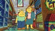 Binky & his mom shopping