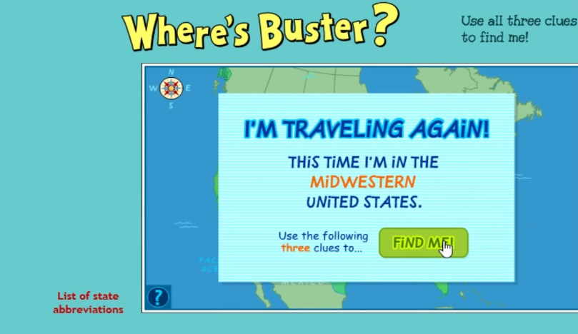 Where's Buster?