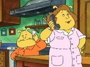 Binky's new cell phone