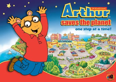 Arthur Saves the Planet: One Step at a Time!