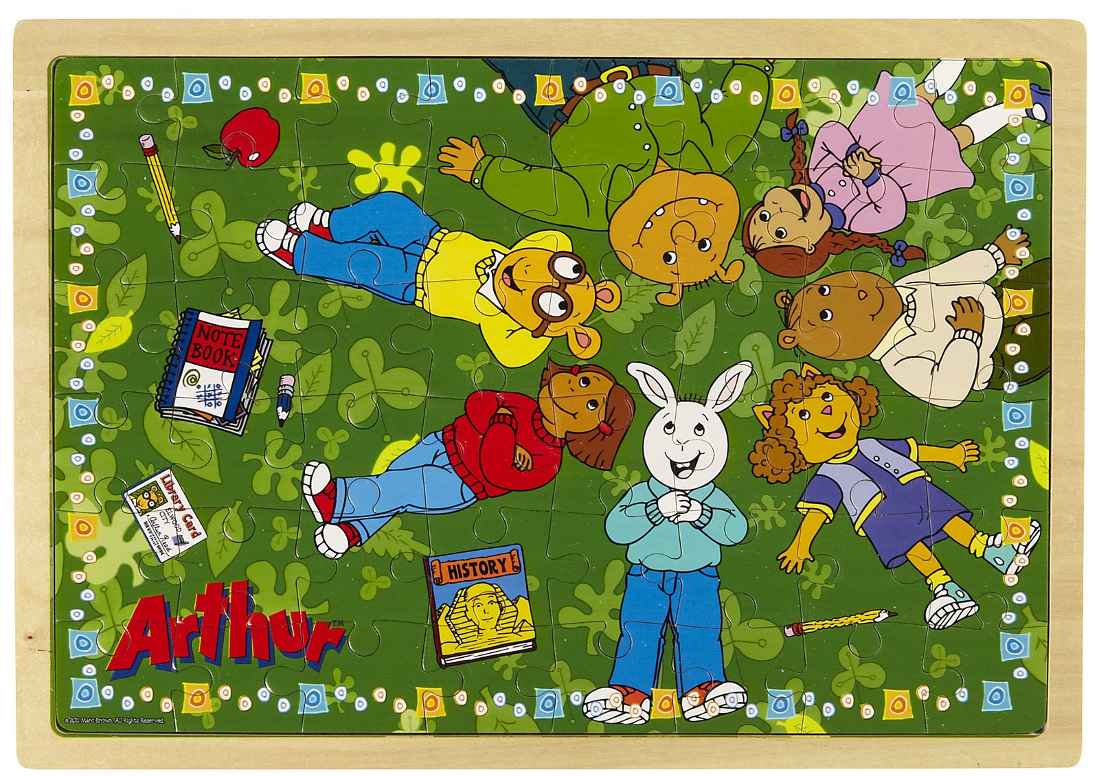 Arthur Wooden Puzzle with Story Surprise: Daydreaming