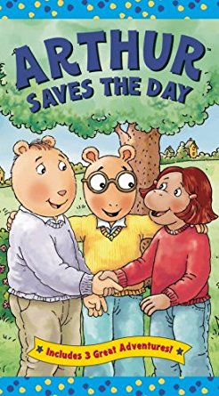 Arthur Saves The Day (VHS)