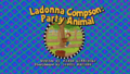 Ladonna Compson Party Animal Title Card