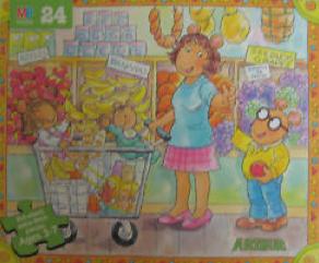 Arthur puzzles (Milton Bradley)