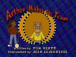 Arthur Makes the Team Title Card.png