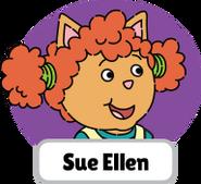 Francine's Tough Day Sue Ellen head 1