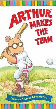 Arthur Makes The Team (VHS)