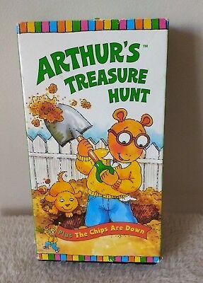 Arthur's Treasure Hunt (VHS)