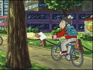 Giving Picture To Bicycle 1