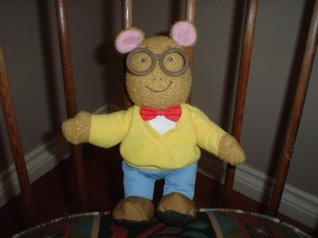 Arthur plush (Playskool)
