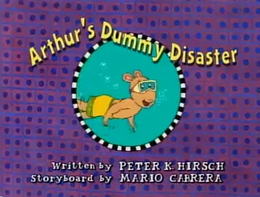 Arthur's Dummy Disaster Title Card.png