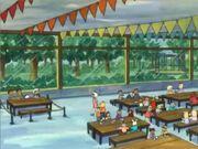 Binky Goes Nuts lunchroom