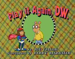 Play It Again, D.W. Title Card.png