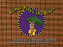Arthur Plays the Blues Title Card.png