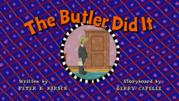 The Butler Did It Title Card.png