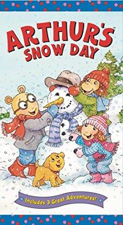 Arthur's Snow Day (VHS)