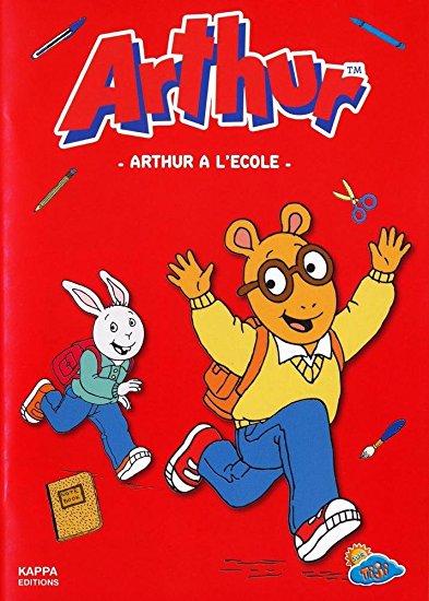 Arthur à l'école