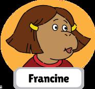 Francine's Tough Day Francine head 5