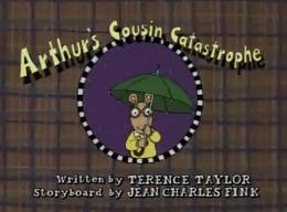 Arthur's Cousin Catastrophe Title Card.png