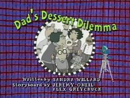 Dad's Dessert Dilemma Title Card.png