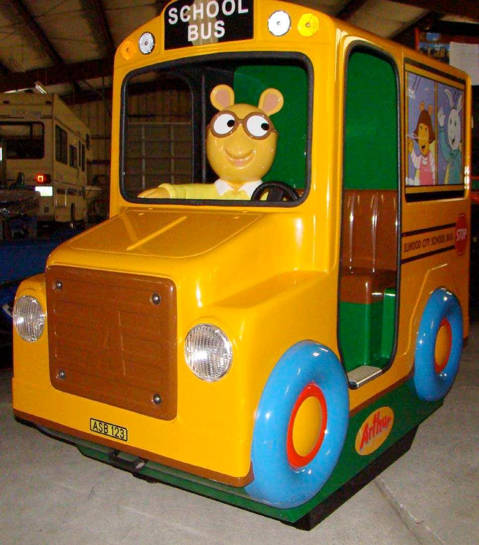 Arthur school bus ride