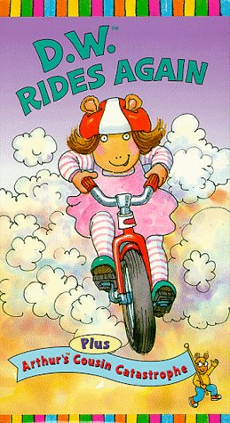 D.W. Rides Again (VHS)