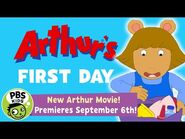 Arthur's First Day! - New Arthur Movie Premiere's Monday, September 6th - PBS KIDS