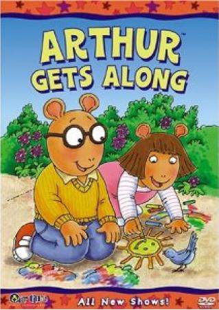 Arthur Gets Along (VHS)